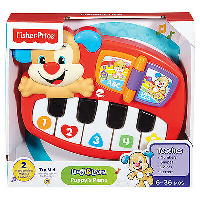 Fisher Price - Laugh & Learn - Puppy's Piano - Fisher Price Laugh n Learn
