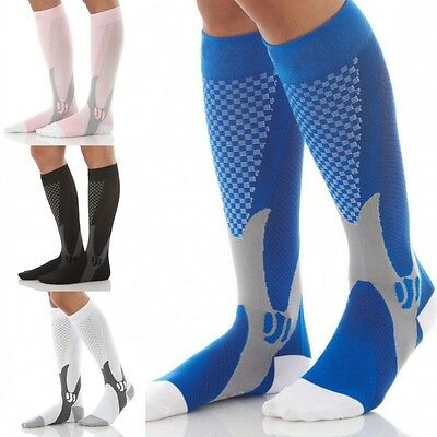 Breathable Unisex Sports Running Magic Stretch Compression Socks Protective