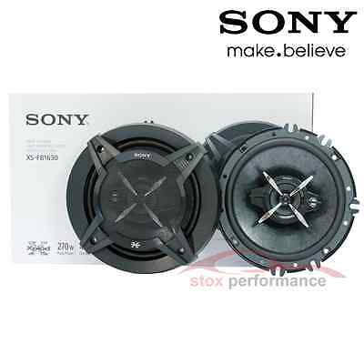 "2 X Boxes new Sony XS-FB1630 6.5""FB Series 3-Way 270W Coaxial Car Speakers"