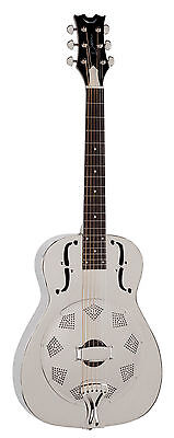Dean Resonator Guitar Chrome chrome RESC