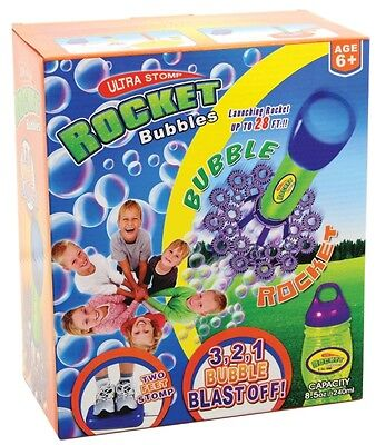 NEW Ultra Stomp Rocket Bubbles from Mr Toys