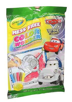 Crayola Mess Free Color Wonder 18 Pages & 5 Markers - Cars