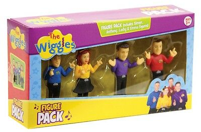 NEW The Wiggles Figure Pack from Mr Toys Toyworld