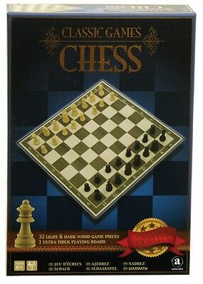 NEW Classic Wooden Chess from Mr Toys
