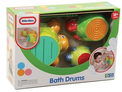 NEW Little Tikes Bath Drums from Mr Toys Toyworld