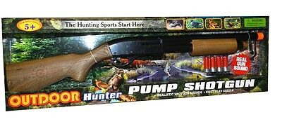 NEW Outdoor Hunter Electronic Pump Action Shotgun from Mr Toys
