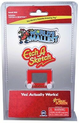 NEW The Worlds Smallest Etch-A-Sketch from Mr Toys Toyworld