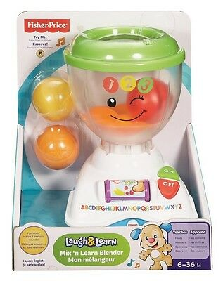 NEW Fisher Price Mix N Learn Blender from Mr Toys Toyworld
