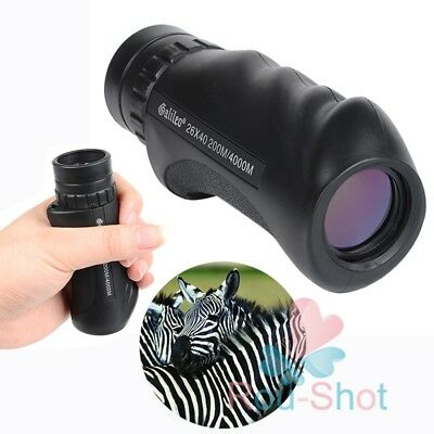 Galilio 26x40 Hand-Held All-Optical Lens HD Monocular Telescope Night Vision