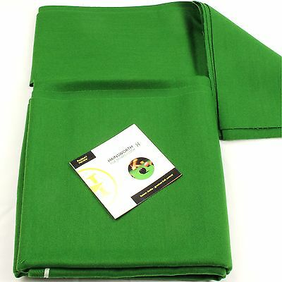 SECONDS Hainsworth ELITE PRO Bed & Cushions for 7ft UK Pool Table -ENGLISH GREEN