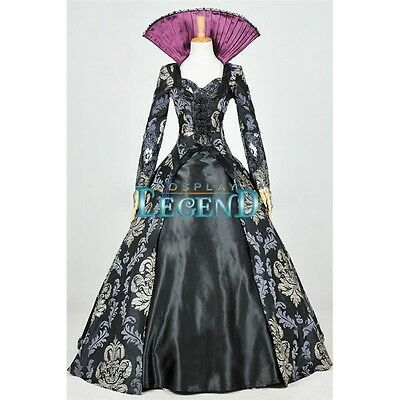Once Upon A Time 3 Regina Mills Dress Costume Cosplay Halloween Costume Adult