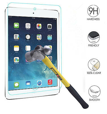 Tempered-Glass Film Screen Protector Cover Guard Shield For iPad 5 6 air 1 2