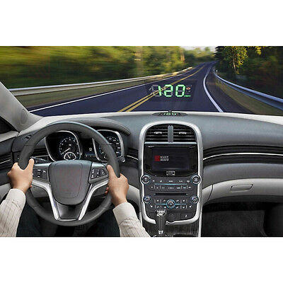 Auto Head Up Display HUD Reflective Film Anzeige Speedometer Speed Alarm Folie
