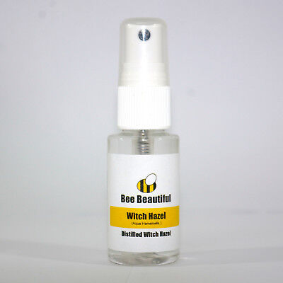 30ml Distilled Witch Hazel - spray, bath bomb making