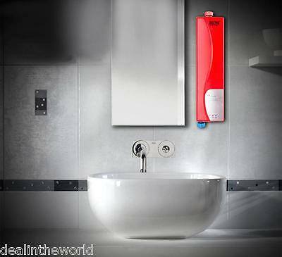 220V 3000W Instant Electric Indoor Tankless Water Heater for Kitchen Bathroom