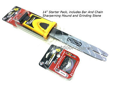 "14"" Oregon PowerSharp Chainsaw Sharpening Starter Kit For Stihl Saws Listed"