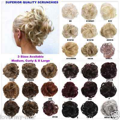 Luxury High Volume Scrunchie, 3 Sizes, Medium, Curly & Large (A7, A8 or A9)