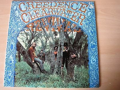 CREEDENCE CLEARWATER REVIVAL 1969 LP VINYL RARE UK  Self Titled LBS 83259