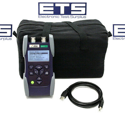 JDSU OLP-57 SM Fiber OPM Optic Power Meter