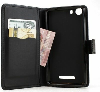 avadoo® Wiko Lenny 2 Flip Case Cover in Schwarz als Hülle