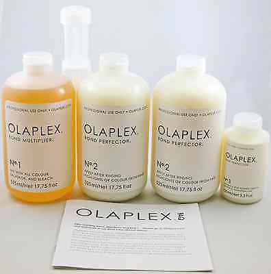 OLAPLEX SALON INTRO KIT - FULL SET- OLAPLEX # 1,2, and 3