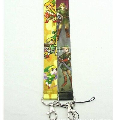 Anime Legend of Zelda Lanyards For Mobile Phone ID Badge Keychain randomly ship
