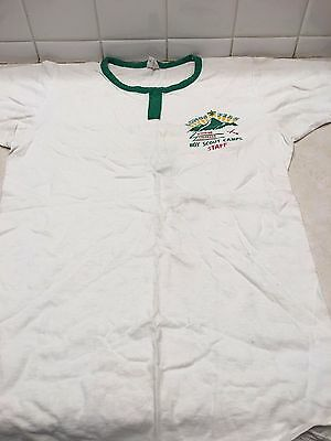 Vintage Longs Peak Council Camp Staff Boy Scout T-Shirt