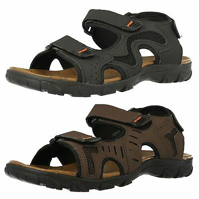 Mens Maverick A0041 Synthetic Casual Rip Tape Strap Sandals
