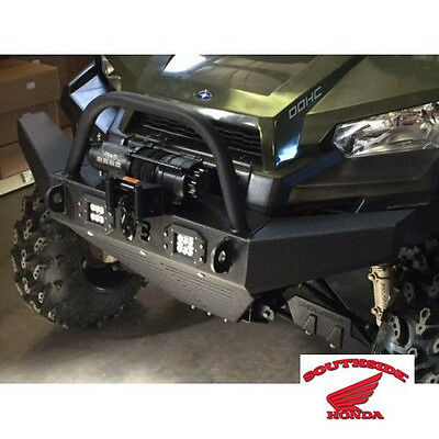 Wild Boar Front Bumper With Winch Mounts & Led Lights Polaris Ranger Mid Size