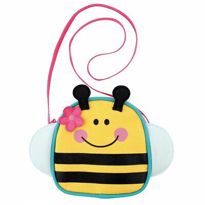 NEW Stephen Joseph Bee Cross Body Purse Toddler Little Girl Handbag Purse