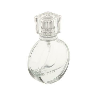 20ml Empty Clear Glass Perfume Spray Bottle Atomizer Refillable Travel Gift