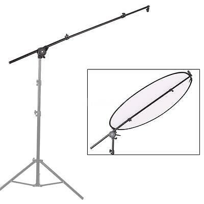 Photography Studio Extendable Reflector Diffuser Holder Stand Boom Pole Arm U0O6