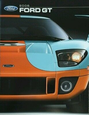 Ford GT Sales Brochure - 2006