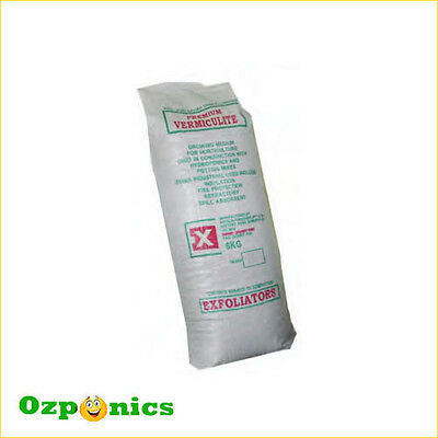 Hydroponics Grow Medium Vermiculite Bag 100 Litre Growing Media Grade 3