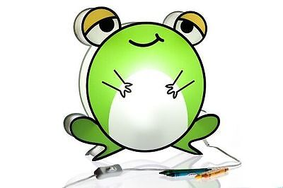 Nursery Lamp & Kid's Room Light - Colorful LED Decorative Lamp - Friendly Frog