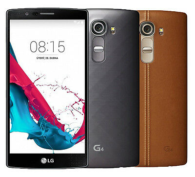 LG G4 H811 -32GB- Metallic Gray/ Genuine Brown Leather (T-Mobile) Clean IMEI