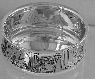 KERR & CO. BABY CEREAL BOWL DEPICTING DIFFERENT ANIMALS, No Mono