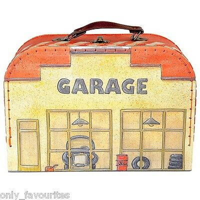 Toy Garage and Car Play Mat in Carry Case From Egmont Toys