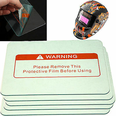 "Hot Sale 5pcs Clear Welding Cover Lens 4.4"" x 3.5"" for Welding Helmet Set"