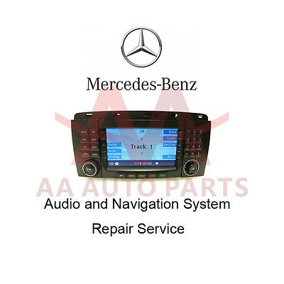 Mercedes Benz Radio Navigation CD Stacker REPAIR SERVICE