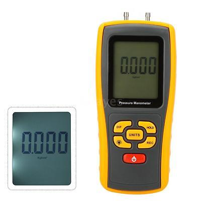 GM510 Handheld Digital Manometer Differential Pressure Meter Gauge U2R0