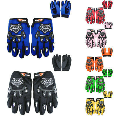 LEOPARD Junior Childrens Kids Motocross Gloves ATV Bike MX Quad Off Road