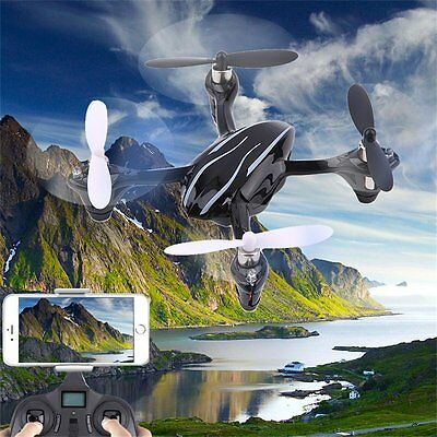 New The Hubsan X4 H107L Quadcopter 4 Channel 2.4GHz RC Quadcopter Black F7