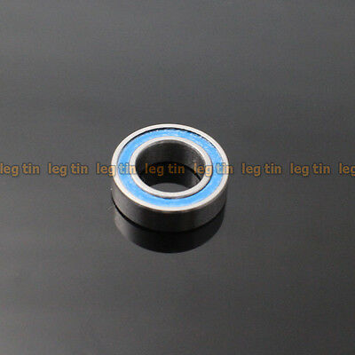 [10pcs] MR148-2RS 8x14x4 mm (Blue) Rubber Sealed Ball Bearing Bearings