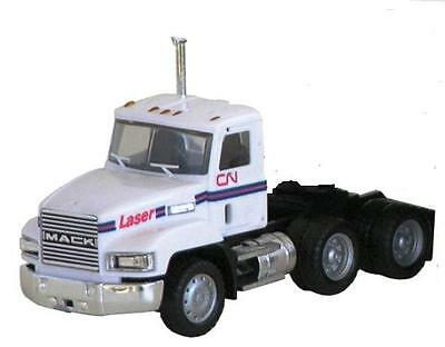 MACK 603 TRUCK Day cab CN Laser lots of Chrome HO 1/87 Scale HERPA Plastic 646