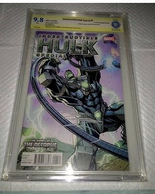 Indestructible Hulk # 1 J.SCOTT CAMPBELL VARIANT 1:50  CBCS/9.8/SS !!
