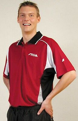 NICE PRICE Stiga Funktionsfaser Polo Tiger bordeaux - neu