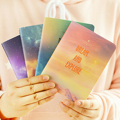 Fantastic Galaxy Star Sky A6 Notebook Diary Book Notepad Gift Stationery