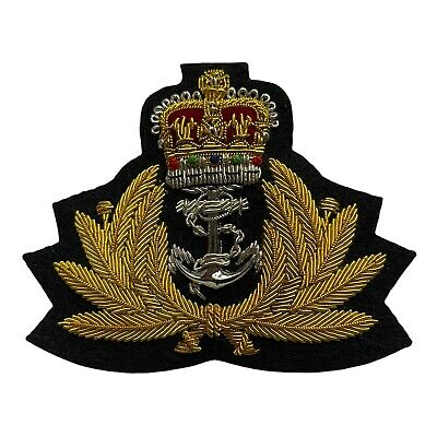 Royal Navy Officers Cap Badge,RN,Hat,Rank Badge,Army,Regiment