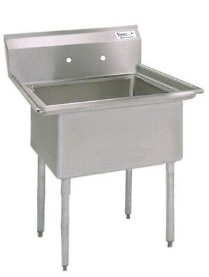 """BK Resources Stainless Steel Stainless Steel Laundry Sink 20""""L x 20""""W x 12""""D BKS"""